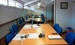 Sala de estudios de Inmaculada Zaragoza