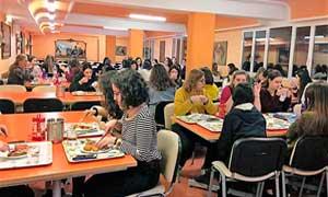 Comedor de la Residencia universitaria de Zaragoza, Inmaculada