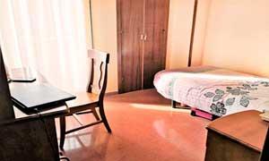 Habitación para estudiantes de la Residencia universitaria de Zaragoza, Inmaculada