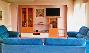 Sala de estar Residencia universitaria de Zaragoza, Inmaculada