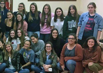 Primer curso y Máster en la Universidad de Zaragoza