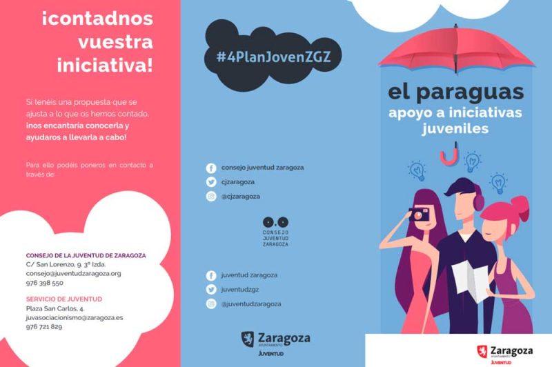 Programa de apoyo a iniciativas juveniles en Zaragoza. El Paraguas