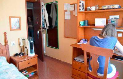 Residencia de estudiantes o piso compartido